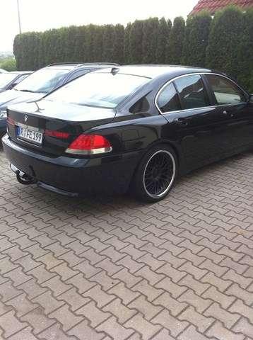 BMW 745i Altın Kaplama